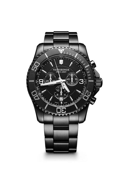 韩际新世界网上免税店-VICTORINOX WAT-手表-Maverick Chrono Black Edition Watch 手表(男款)