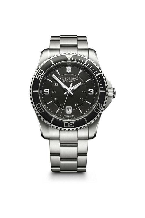 韩际新世界网上免税店-VICTORINOX WAT-手表-Maverick Large Black Watch 手表(男款)