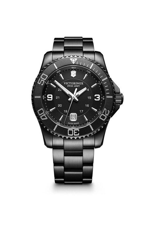 韩际新世界网上免税店-VICTORINOX WAT-手表-Maverick Large Black Edition Watch 手表(男款)