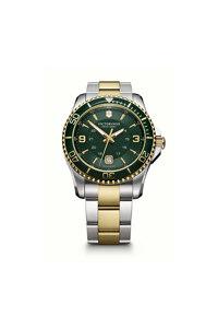 韩际新世界网上免税店-VICTORINOX WAT-手表-Maverick GS Large Green 2-tone Watch 手表(男款)