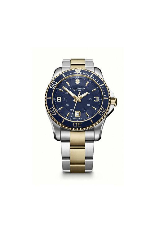 韩际新世界网上免税店-VICTORINOX WAT-手表-Maverick GS Large Blue 2-tone Watch 手表(男款)