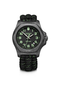 韩际新世界网上免税店-VICTORINOX WAT-手表-I.N.O.X. Carbon Black Dial Black Paracord Strap Watch 手表