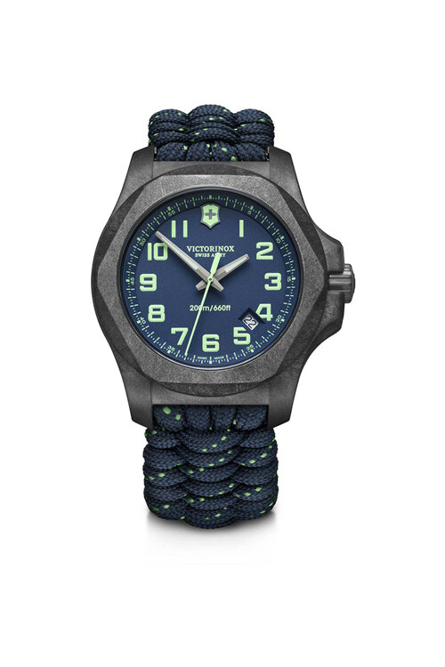 韩际新世界网上免税店-VICTORINOX WAT-手表-I.N.O.X. Carbon Blue Dial Blue Paracord Strap Watch 手表