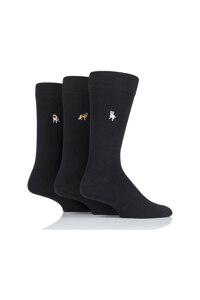 韩际新世界网上免税店-SOCKSHOP-时尚配饰-男士袜子3双套装 - Dogs