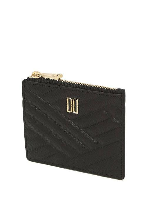 신세계인터넷면세점-닥스-지갑-DCHO1E216BK 블랙 DD 로고 엠보싱 카드홀더
