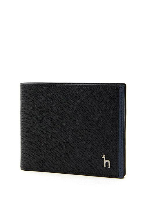 신세계인터넷면세점-헤지스-지갑-HJWA1E034BK 블랙 사이드 배색 가죽 머니클립