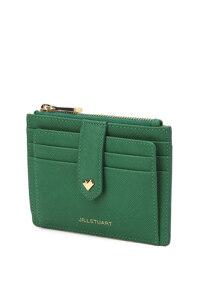 신세계인터넷면세점-질 스튜어트(패션)-지갑-JAHO1E871E2 그린 로고배색 소가죽 카드지갑
