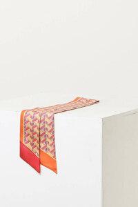 신세계인터넷면세점-질 스튜어트(패션)--JASC1E301P2 핑크 패턴 실크 스카프