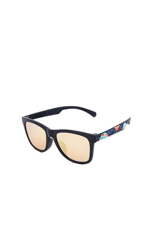 韩际新世界网上免税店-SODAMON (EYE)-太阳镜眼镜-KD5001-C04 儿童太阳镜 Black Space Pattern Rose Gold Mirror lens