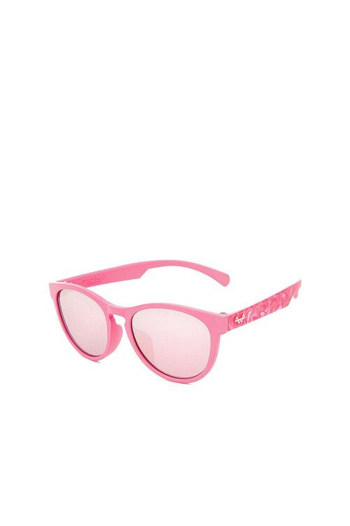 韩际新世界网上免税店-SODAMON (EYE)-太阳镜眼镜-KD5002-C02 儿童太阳镜 Pink+Pink Pattern Rosepink Mirror Lens