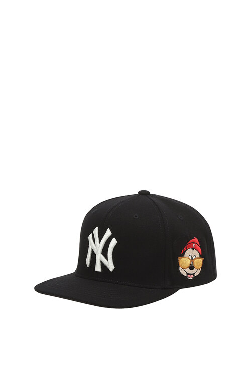 韩际新世界网上免税店-MLB-时尚配饰-32CPK1011-50L-FREE [SNAPBACK] MLB X DISNEY SNAPBACK NEW YORK YANKEES 帽子