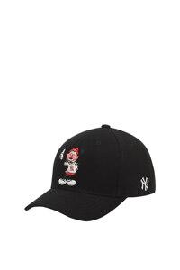 韩际新世界网上免税店-MLB-时尚配饰-32CPKA011-50L-FREE [CURVE] MLB X DISNEY CURVE ADJUSTABLE CAP NEW YORK YANKEES 帽子