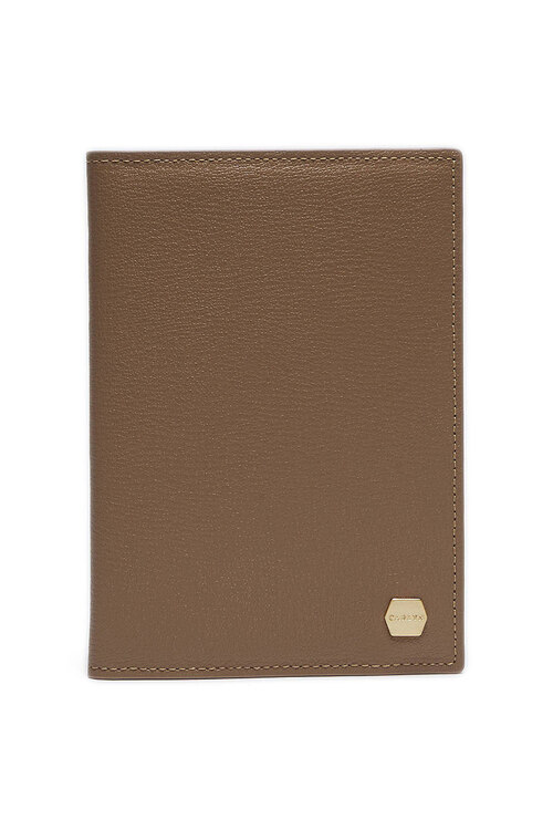 韩际新世界网上免税店-CARLYN-钱包-MADELEINE PASSPORT WALLET BEIGE 护照夹