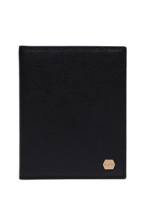 韩际新世界网上免税店-CARLYN-钱包-MADELEINE PASSPORT WALLET BLACK 护照夹