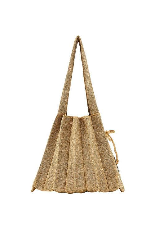신세계인터넷면세점-조셉앤스테이시-캐주얼 가방-Lucky Pleats Knit S Starry Gold