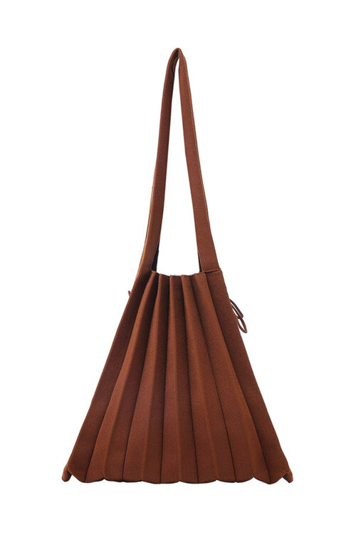 신세계인터넷면세점-조셉앤스테이시-여성 가방-Lucky Pleats Knit M Peanut Brown