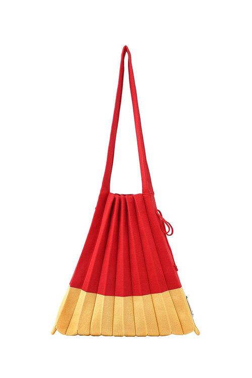 신세계인터넷면세점-조셉앤스테이시-여성 가방-Lucky Pleats Knit M Mix Naked Apple