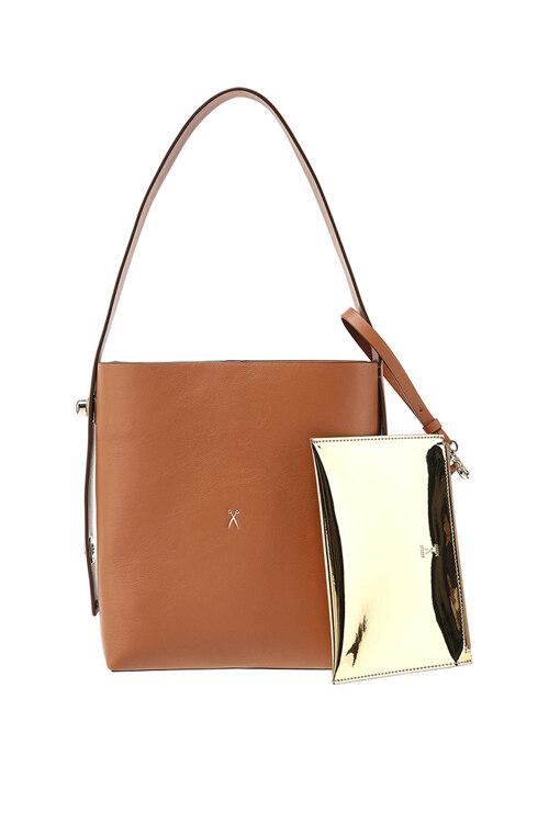 신세계인터넷면세점-조셉앤스테이시-여성 가방-Joseph Shopper S Pecan Brown(+Pouch)