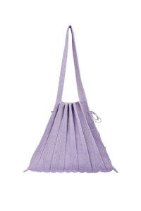 韩际新世界网上免税店-JOSEPH&STACEY-女士箱包-Lucky Pleats Knit M Starry Lilac 单肩包