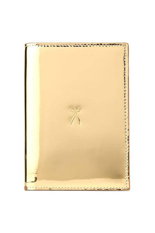 韩际新世界网上免税店-JOSEPH&STACEY-钱包-0JSI5WT40203F Easysafe Flap It! Passport Wallet MIRROR GOLD 护照夹