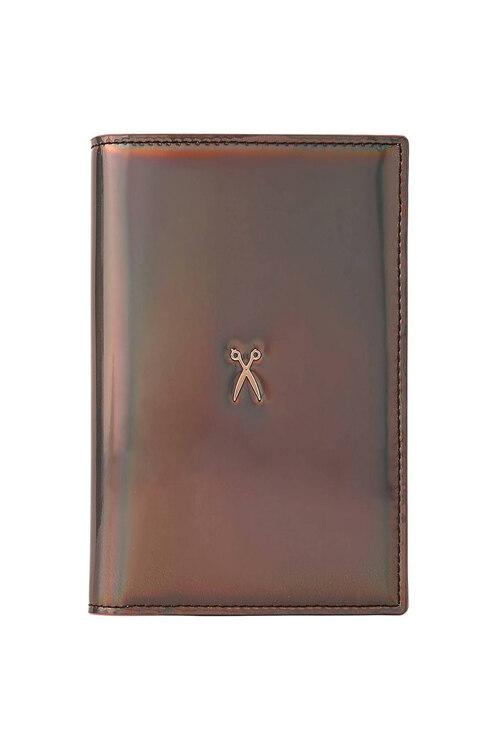 韩际新世界网上免税店-JOSEPH&STACEY-钱包-0JSI5WT40205F Easysafe Flap It! Passport Wallet MIRROR BROWN 护照夹