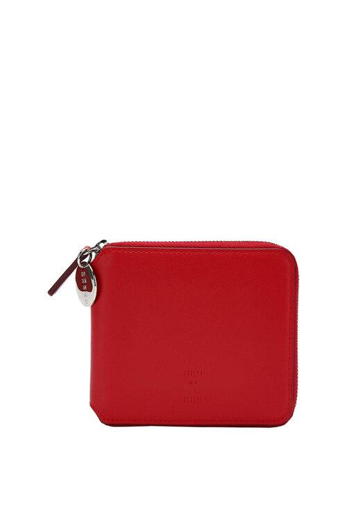 신세계인터넷면세점-조셉앤스테이시-지갑-OZ Wallet Half Barbados Red