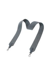 韩际新世界网上免税店-JOSEPH&STACEY-女士箱包-Playful Wide Webbing Strap Melange Grey 肩带