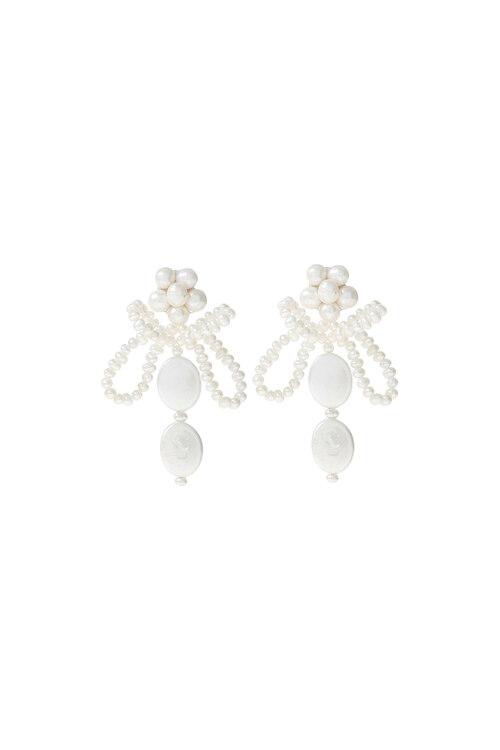 신세계인터넷면세점-엠주--Holiday Pearl Bee Earrings