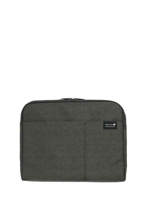 韩际新世界网上免税店-TRAVELUS-旅行箱包-收纳包 A4&13英寸_02 dark grey