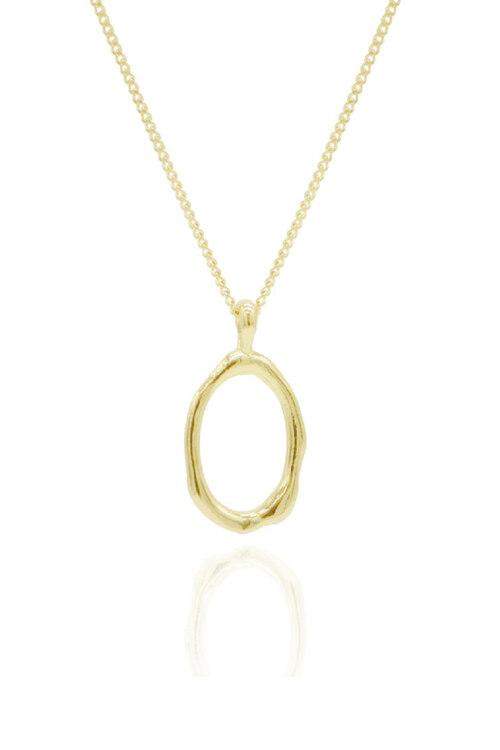 신세계인터넷면세점-플로움--Melted Necklace S (Gold)