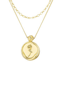 신세계인터넷면세점-플로움--Dear Rose Necklace Set (Gold)
