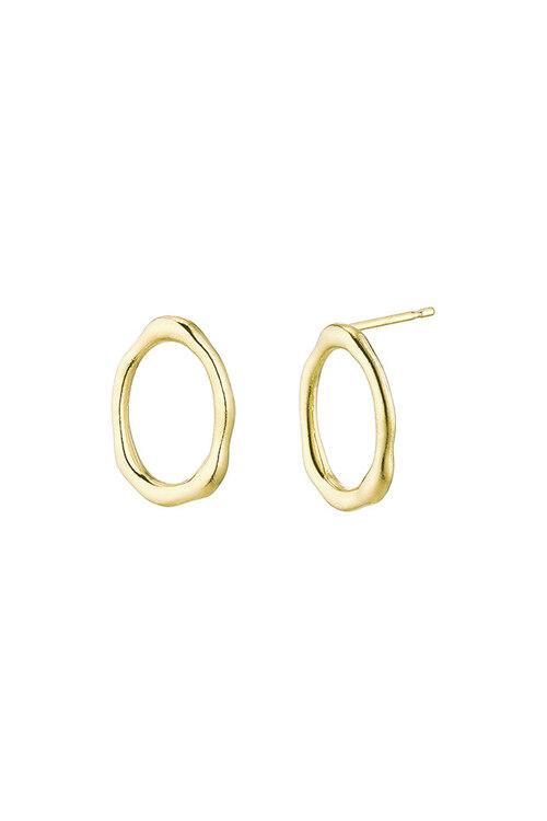韩际新世界网上免税店-FLOWOOM-首饰-Melted Earring S (Gold) 耳饰