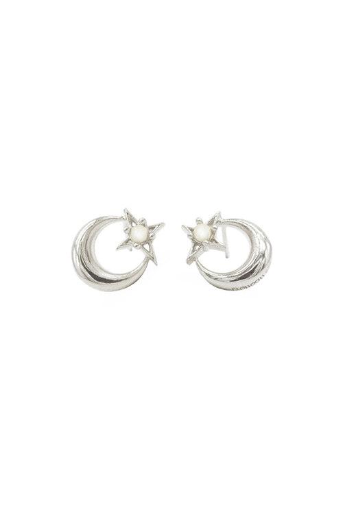 韩际新世界网上免税店-FLOWOOM-首饰-Lune Etoile Earring (White) 耳饰