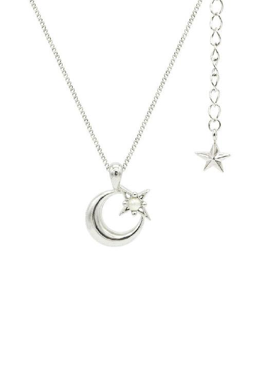 신세계인터넷면세점-플로움--Lune Etoile Necklace (White)