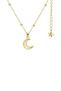 신세계인터넷면세점-플로움--Moon Light Necklace (Gold_Pearl_Dot)