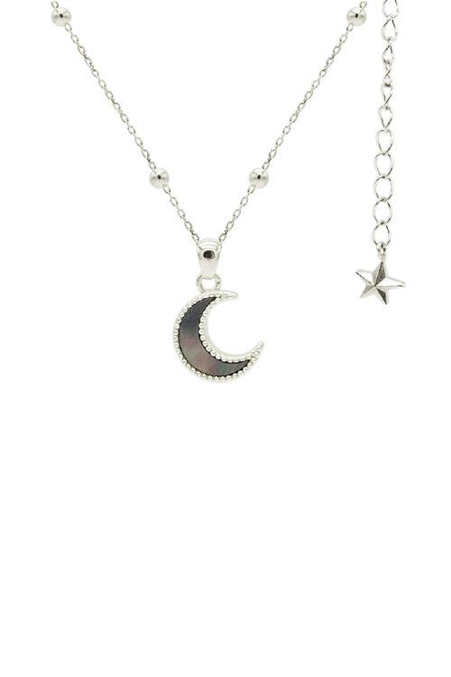 신세계인터넷면세점-플로움--Moon Light Necklace (White_Black Pearl_Dot)