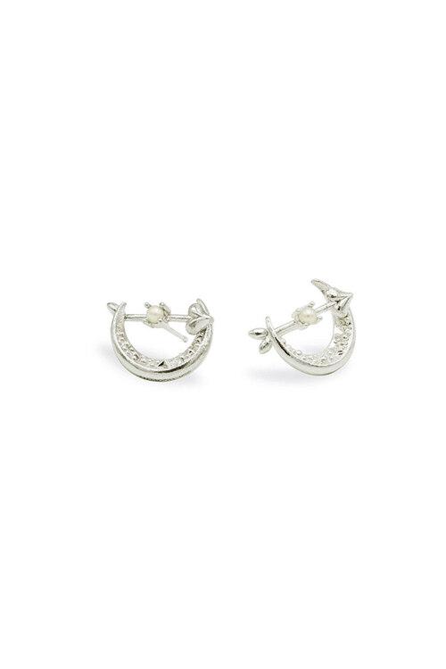 韩际新世界网上免税店-FLOWOOM-首饰-Lune Catcher Earring (White) 耳饰