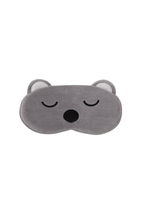 韩际新世界网上免税店-TSH-时尚配饰-睡眠眼罩_树袋熊灰色