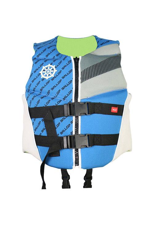 韩际新世界网上免税店-BALLOP-运动休闲-氯丁橡胶救生衣 儿童 45kg Blue