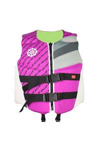 韩际新世界网上免税店-BALLOP-运动休闲-氯丁橡胶救生衣 儿童 45kg Pink