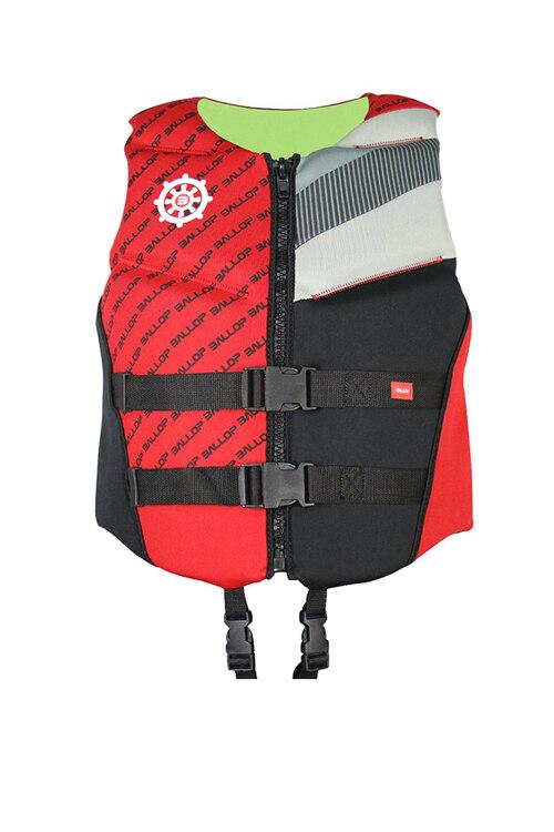 韩际新世界网上免税店-BALLOP-运动休闲-氯丁橡胶救生衣 青少年~成人 65kg Red