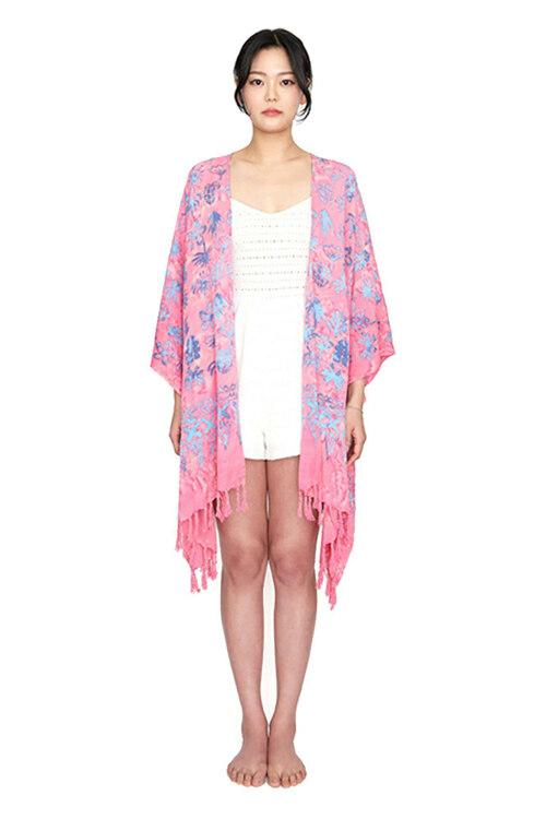 신세계인터넷면세점-멧앤멜--[Fringe Robe] Balibloom - Pink