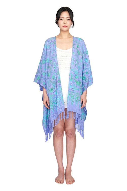 신세계인터넷면세점-멧앤멜--[Fringe Robe] Dahlia - Lavender