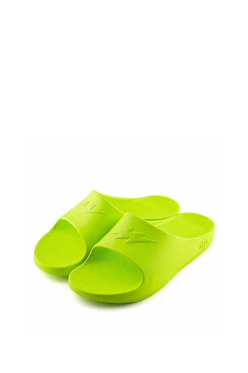 韩际新世界网上免税店-MO SPORTS-鞋-MO SLIDE LIME S(235-245mm) 拖鞋