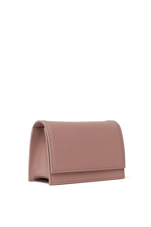 신세계인터넷면세점-어썸니즈-여성 가방-카우 레더 글러브 백 인디 핑크