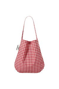 韩际新世界网上免税店-AWESOME NEEDS-女士箱包-SECOND ECO BAG CHECK 单肩包 RED