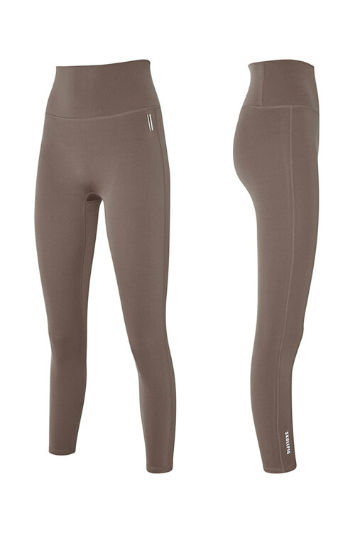 韩际新世界网上免税店-SKULLPIG-运动休闲-[SA5270]  PLAX LEGGINGS Capuccino Beige_S 紧身裤