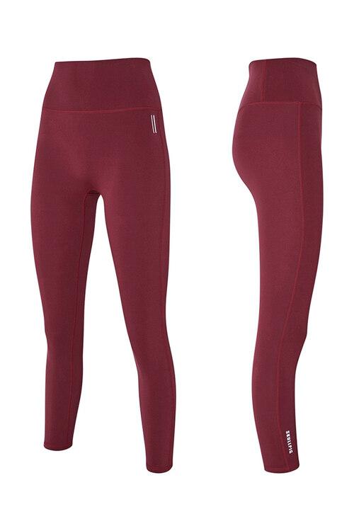 韩际新世界网上免税店-SKULLPIG-运动休闲-[SA5269] PLAX LEGGINGS Cherrycoke Red_M 紧身裤