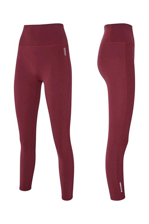 韩际新世界网上免税店-SKULLPIG-运动休闲-[SA5269] PLAX LEGGINGS Cherrycoke Red_L 紧身裤