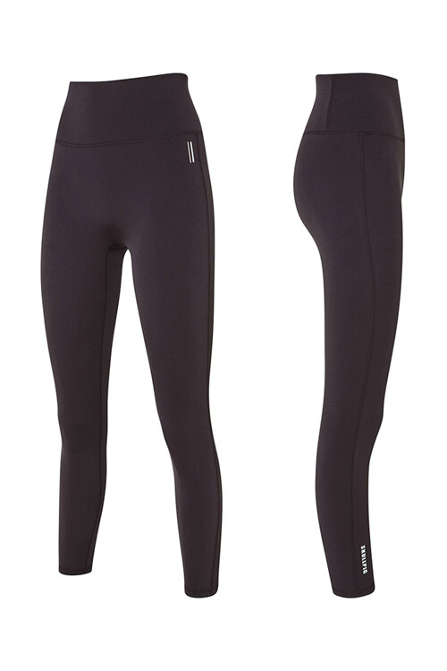 韩际新世界网上免税店-SKULLPIG-运动休闲-[SA5268] PLAX LEGGINGS Purple Brown_XS 紧身裤